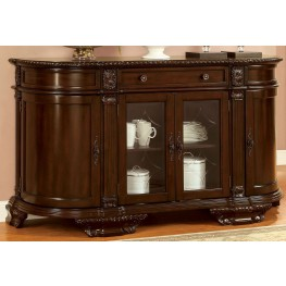 Bellagio Brown Cherry Server