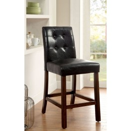 Marstone II Brown Cherry Counter Height Chair Set Of 2