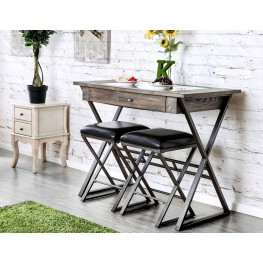 Glasby Weathered Gray Bar Stool Set Of 2