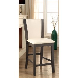 Manhattan III Gray Counter Height Chair Set Of 2