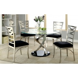 Roxo Round Pedestal Dining Room Set