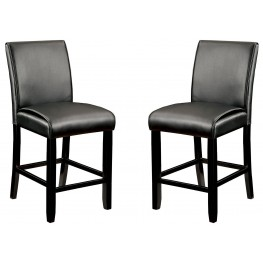 Gladstone I Black Counter Height Chair Set of 2