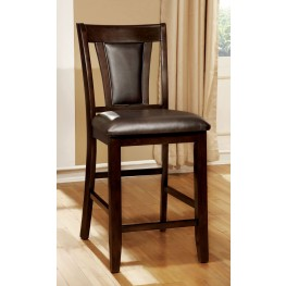 Brent II Brown Counter Height Chair Set of 2