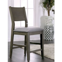 Anton II Gray Counter Height Chair Set Of 2