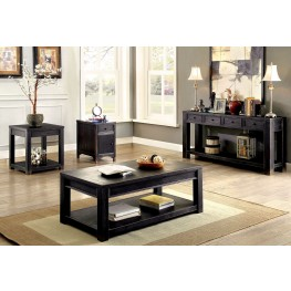 Meadow Antique Black Occasional Table Set