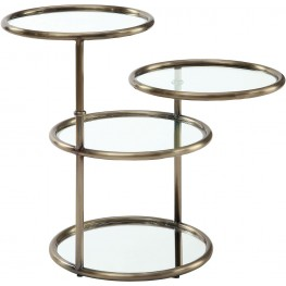 Athlone Champagne End Table