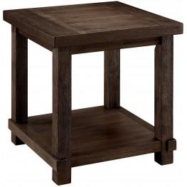 Mara Dark Walnut End Table