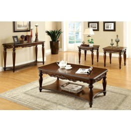 Bunbury Cherry 3 Piece Occasional Table Set