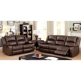 Kris Brown Sofa Reclining Living Room Set