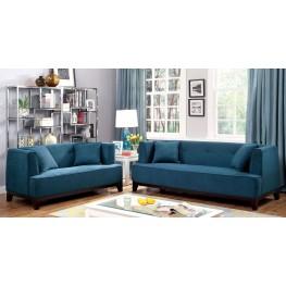 Sofia Dark Teal Living Room Set