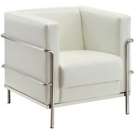 Leifur White Chair