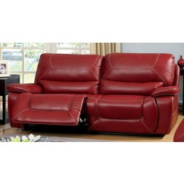 Newburg Red Reclining Sofa