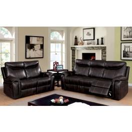 Karlee Dark Brown Living Room Set