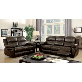 Listowel Brown Living Room Set