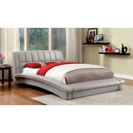 Vizela Gray Cal. King Bed
