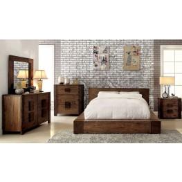 Janeiro Rustic Natural Bedroom Set