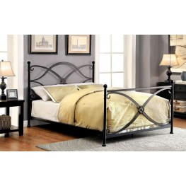 Zaria Full Metal Panel Bed