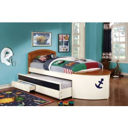 Voyager Twin Trundle Storage Bed