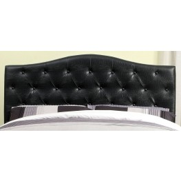 Calpas Black Crocodile Leatherette Full/Queen Headboard