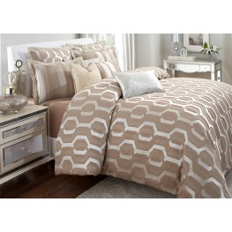 Como Queen 9 Pcs Comforter Set