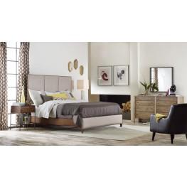 Studio 7H Beige Aon Upholstered Panel Bedroom Set