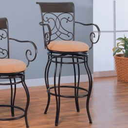 "Dark Brown 29"" Barstool"