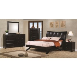 Phoenix Upholstered Platform Bedroom Set - 300356