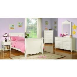 Pepper Sleigh Bedroom Set - 40036