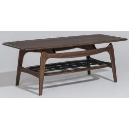 Modern Classics Michelle Walnut Coffee Table