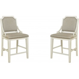 Mystic Cay Weathered Gathering Chair Set of 2