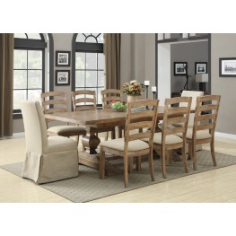 Bel Air Lightly Distressed Dining Room Set