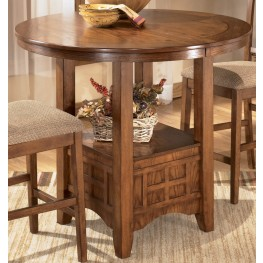 Cross Island Oval Counter Height Extension Table