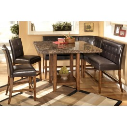 Lacey Square Counter Height Dinette Set