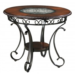 Glambrey Round Dining Room Counter Table