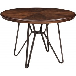 Centiar Two-Tone Brown Round Dining Table