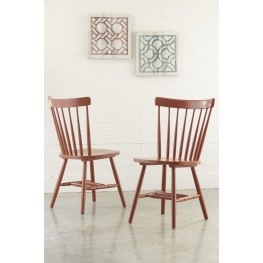 Bantilly Orange Dining Room Chair Set Of 2