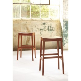 Bantilly Red Tall Stool Set Of 2