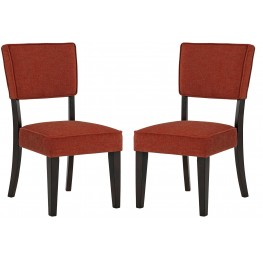 Gavelston Brick Dining Upholstered Side Chair Set of 2