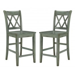 Mestler Counter Stool Set of 2