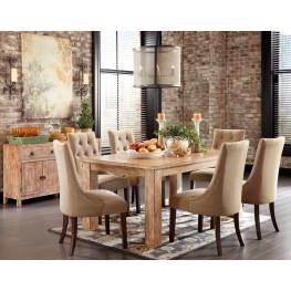 Mestler Driftwood Dining Room Set