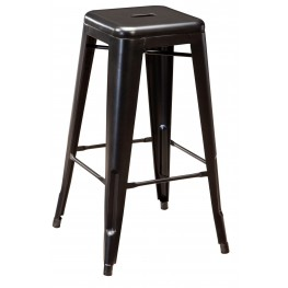 Pinnadel Tall Metal Stool Set of 4