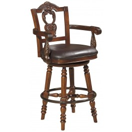 North Shore Tall Swivel Bar Stool