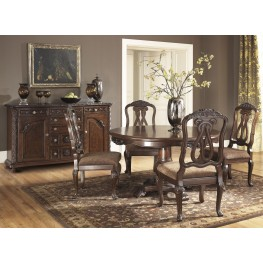 North Shore Round Pedestal Dining Room Set