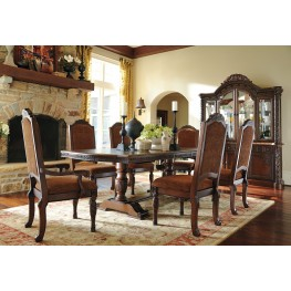 North Shore Double Pedestal Dining Room Set