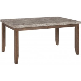 Narvilla Two-Tone Rectangular Dining Room Table