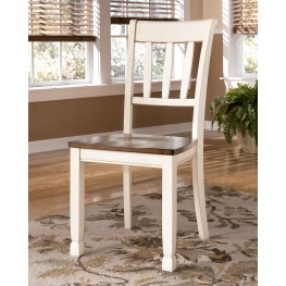 Whitesburg Slat Back Side Chair Set of 2