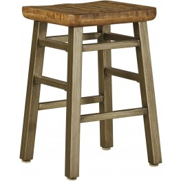 Dondie Warm Brown Counter Stool Set of 2