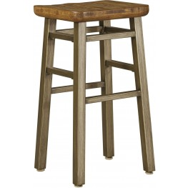 Dondie Warm Brown Tall Stool Set of 2