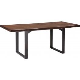 Esmarina Dark Brown Rectangular Dining Table