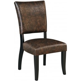 Sommerford Brown Upholstered Side Chair Set of 2